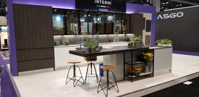 Our stand at KBIS 2018